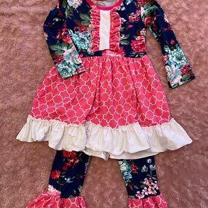 Toddler girls boutique set